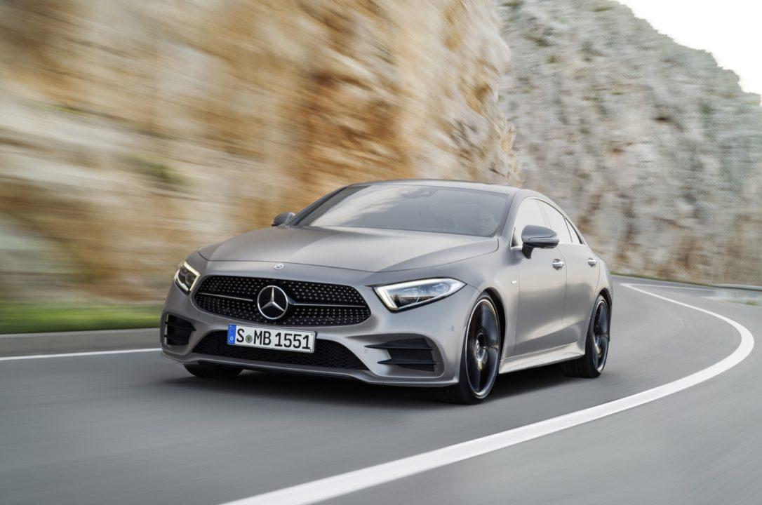 Prvi snimak novog Mercedesa CLS (video)