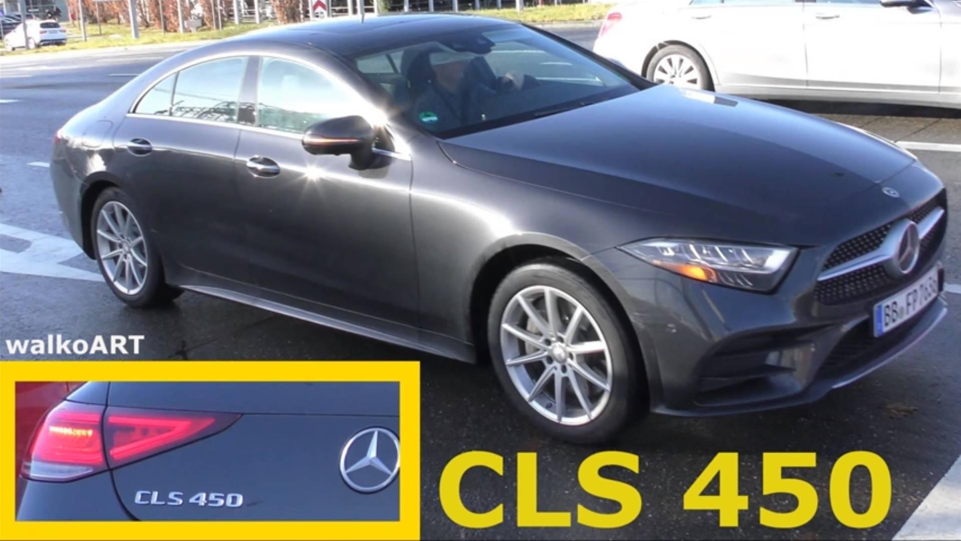 Mercedes-Benz CLS 450 na ulicama Zindelfingena (video)