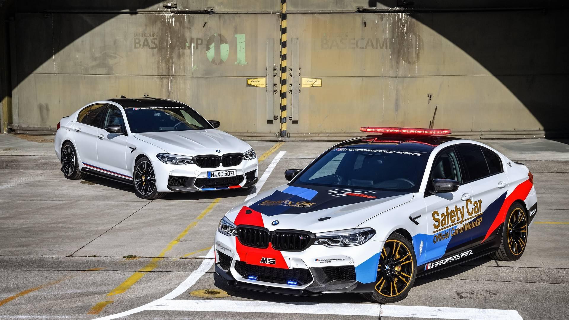 BMW M5 MotoGP Safety Car izbliza (video i galerija)