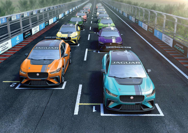 20 identičnih modela Jaguar I-Pace učestvovaće u eTrophy seriji