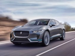 2019 Jaguar I-Pace in motion –Chasing Cars