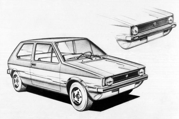 Volkswagen Golf istorija: Život pre Golfa