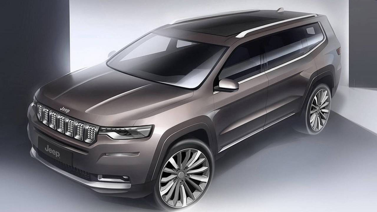 Novi Jeep Grand Commander samo u Kini?