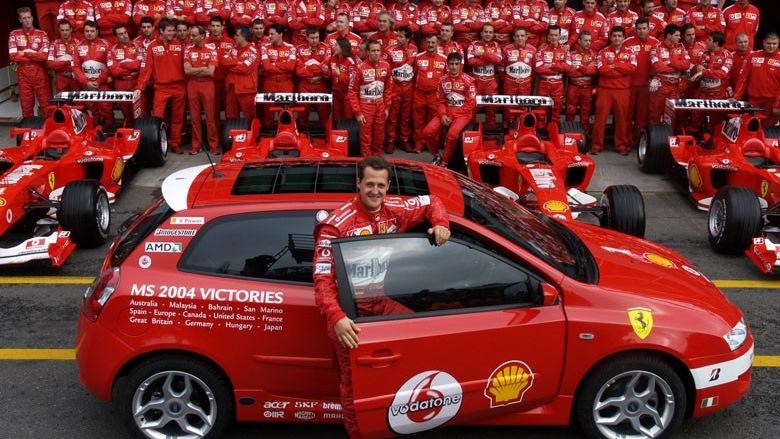 10 automobila sa imenima inspirisanim Formulom 1