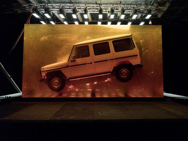 "Mercedes G klase zarobljen u ""ćilibar kocki"" (video)"