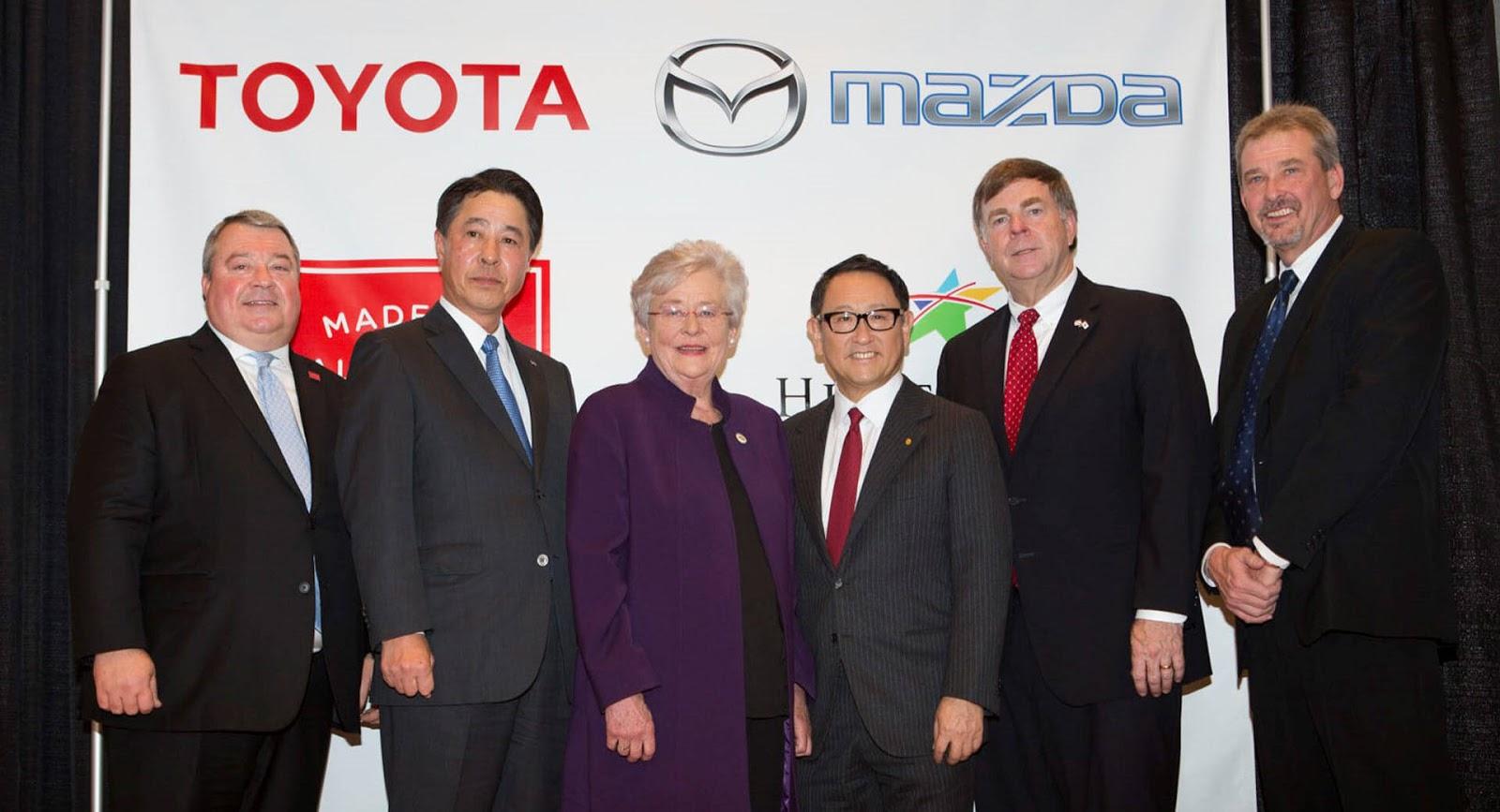 Toyota i Mazda prave novu fabriku u SAD