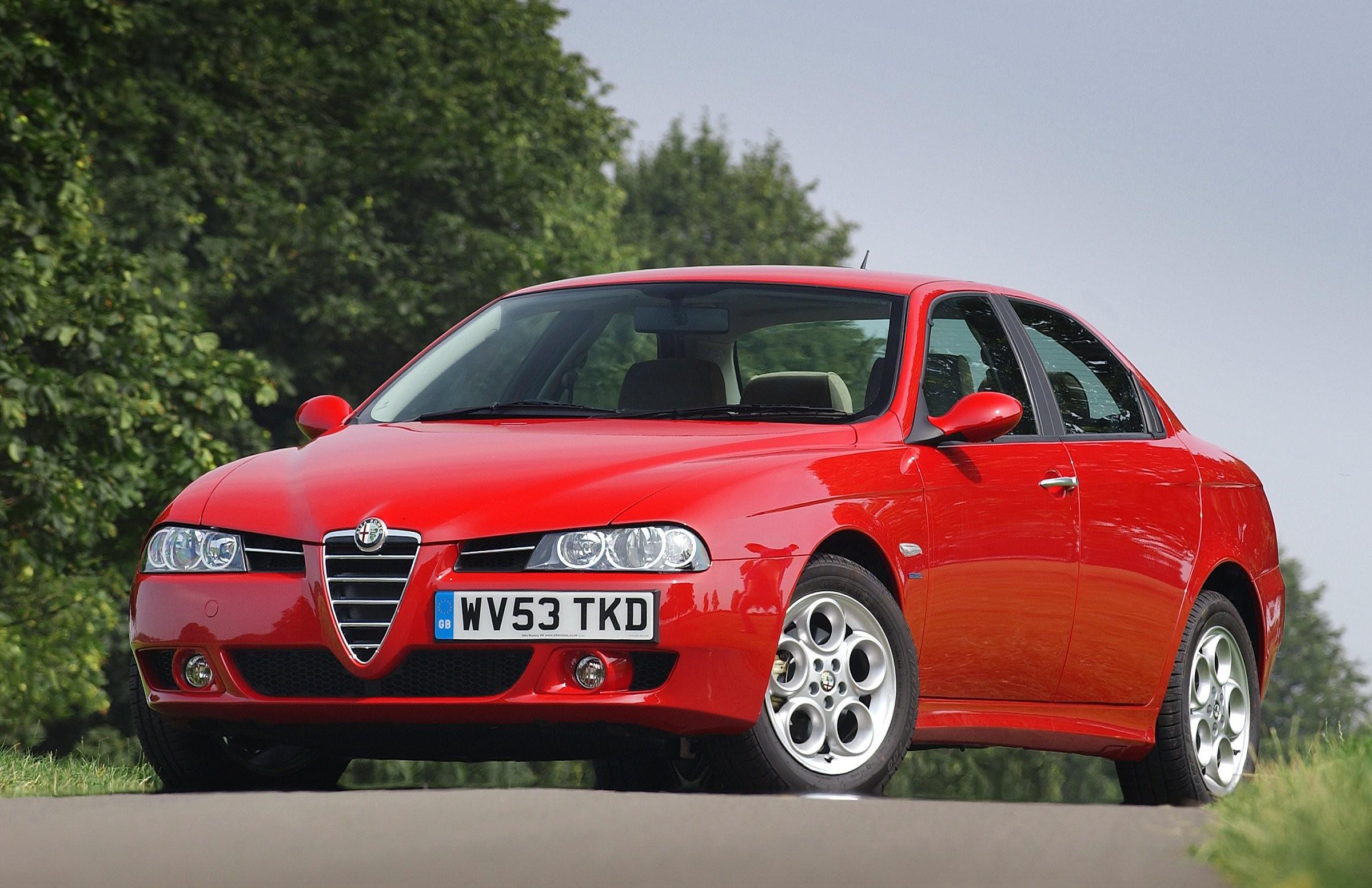 Alfa Romeo 156 – Polemičar