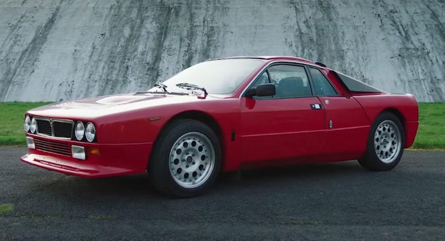Džeremi Klarkson i Lancia 037 (video)