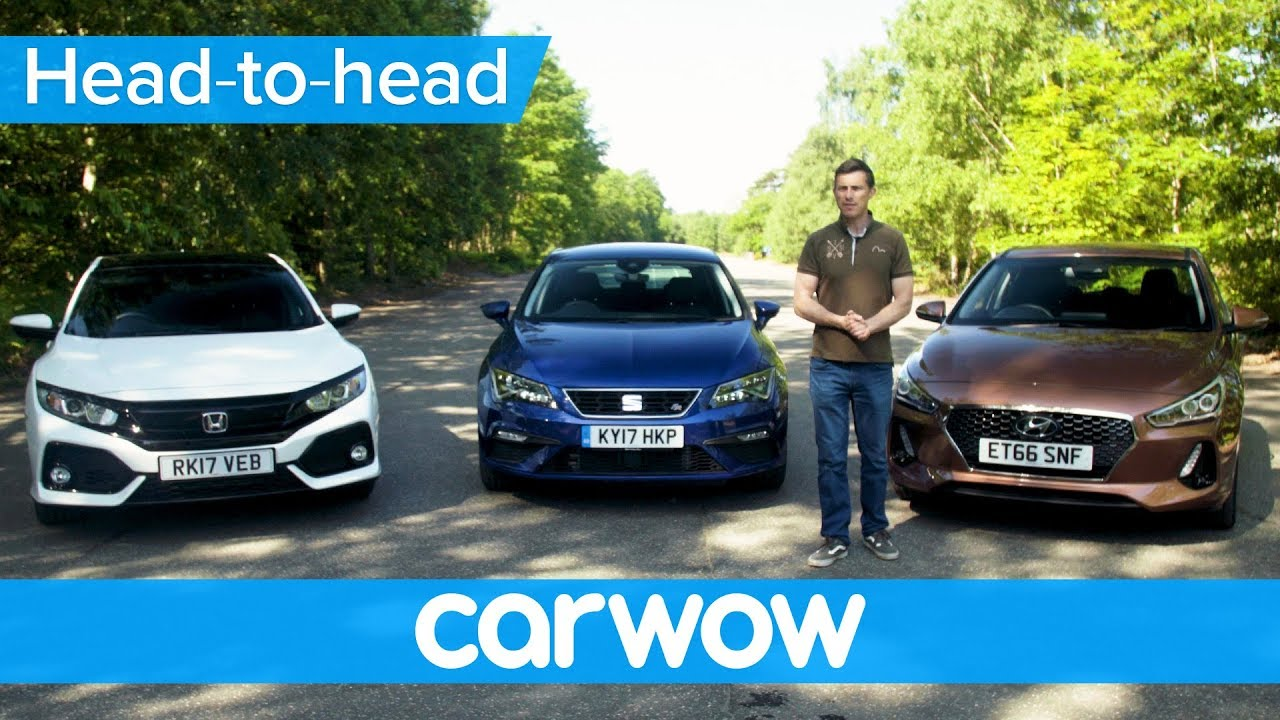 Honda Civic vs. Seat Leon vs. Hyundai i30 (video)