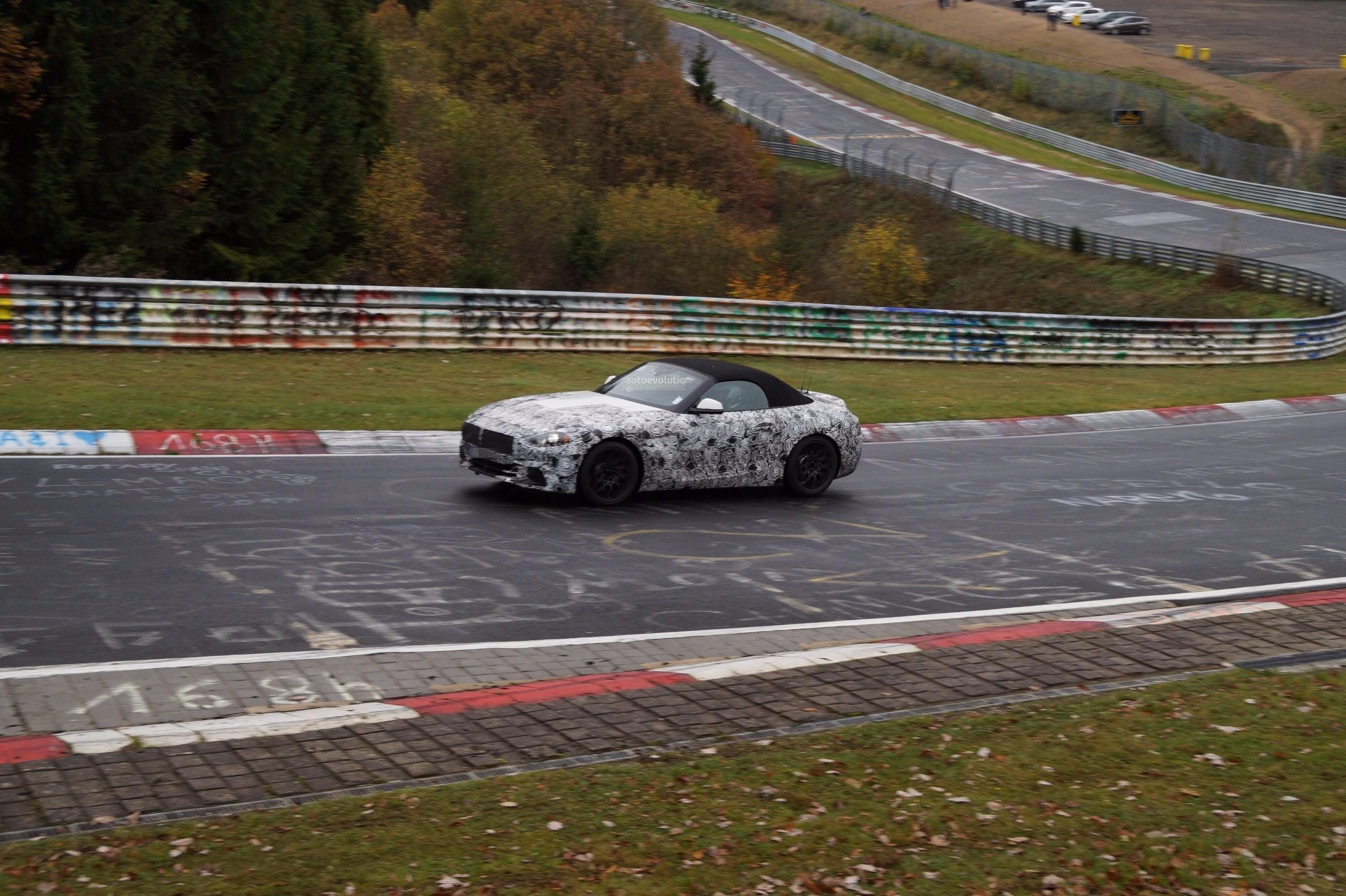 Novi BMW Z4 kamufliran na Nirburgringu