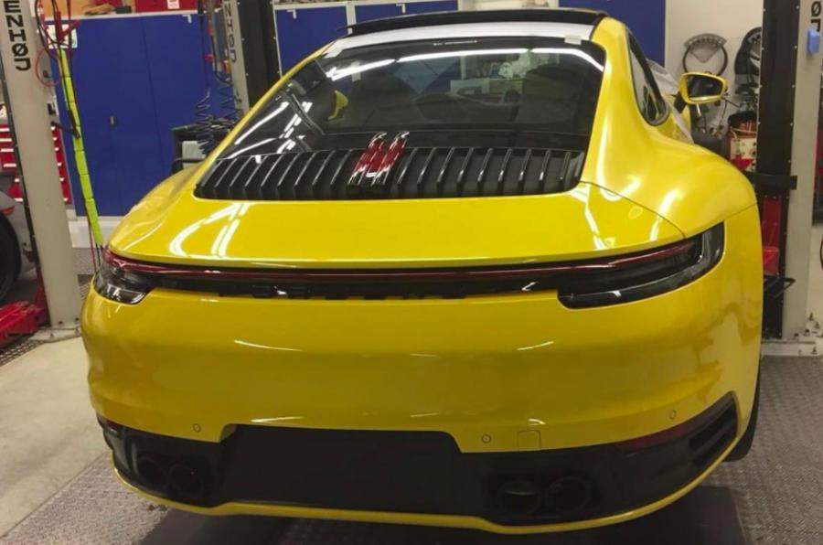 Porsche 911 992 – prva fotografija serijskog modela