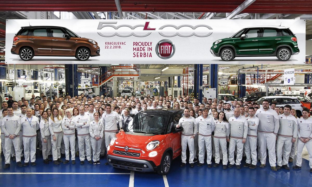 500.000. Fiat 500L sišao s proizvodne trake
