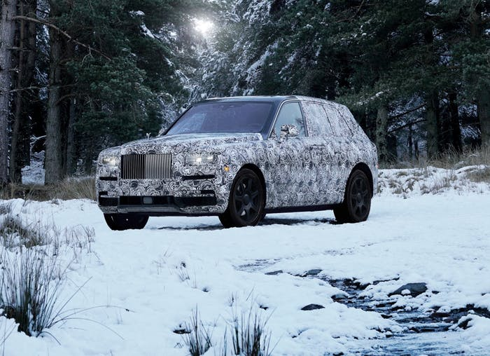 Rolls-Royce Cullinan u Ženevi?