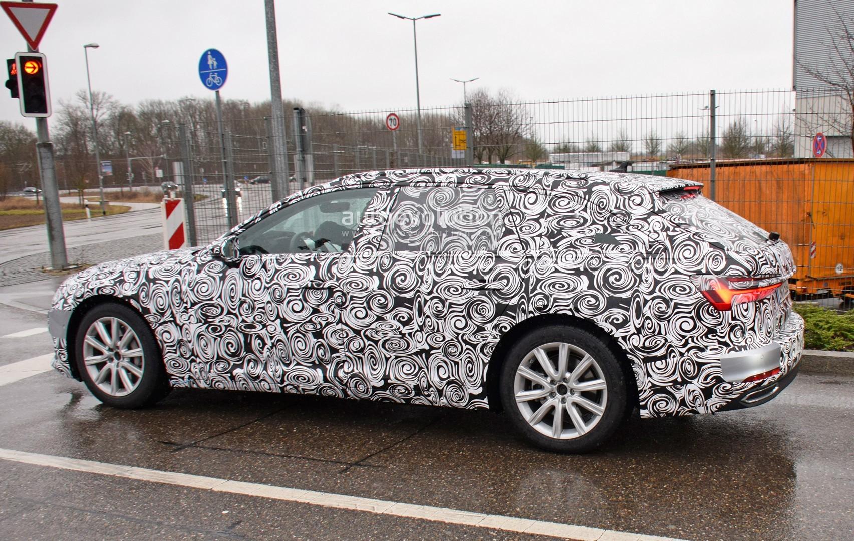 Špijunaža: Audi A6 Avant