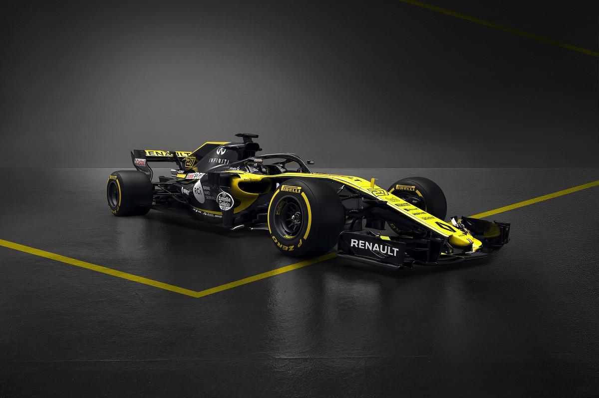 Renault takođe predstavio svoj novi F1 bolid