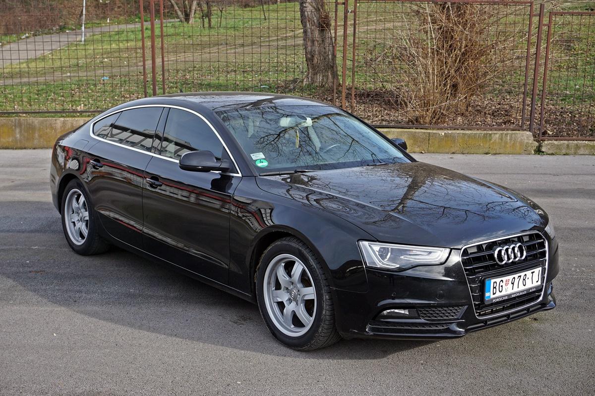 Audi A5 Sportback 2.0 TDI 130 kW (2013.) – Posle 202.000 km bez tragova korišćenja