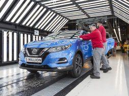 Produktion des dreimillionsten Nissan Qashqai in Sunderland
