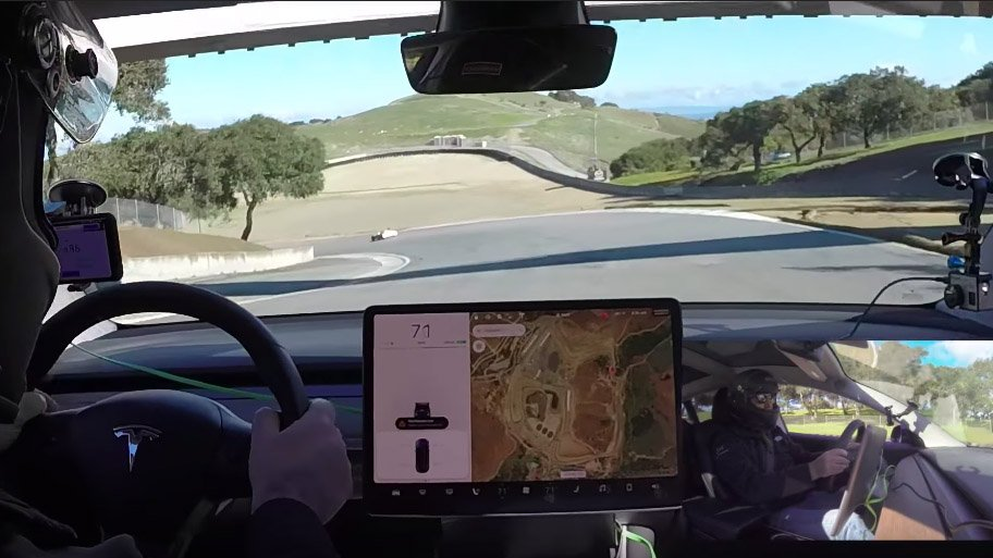 "Tesla Model 3 – kočione pločice koje se ""tope"" (video)"