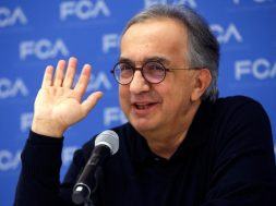 FILE PHOTO: FCA's Marchionne speaks at the North American International Auto Show in Detroit