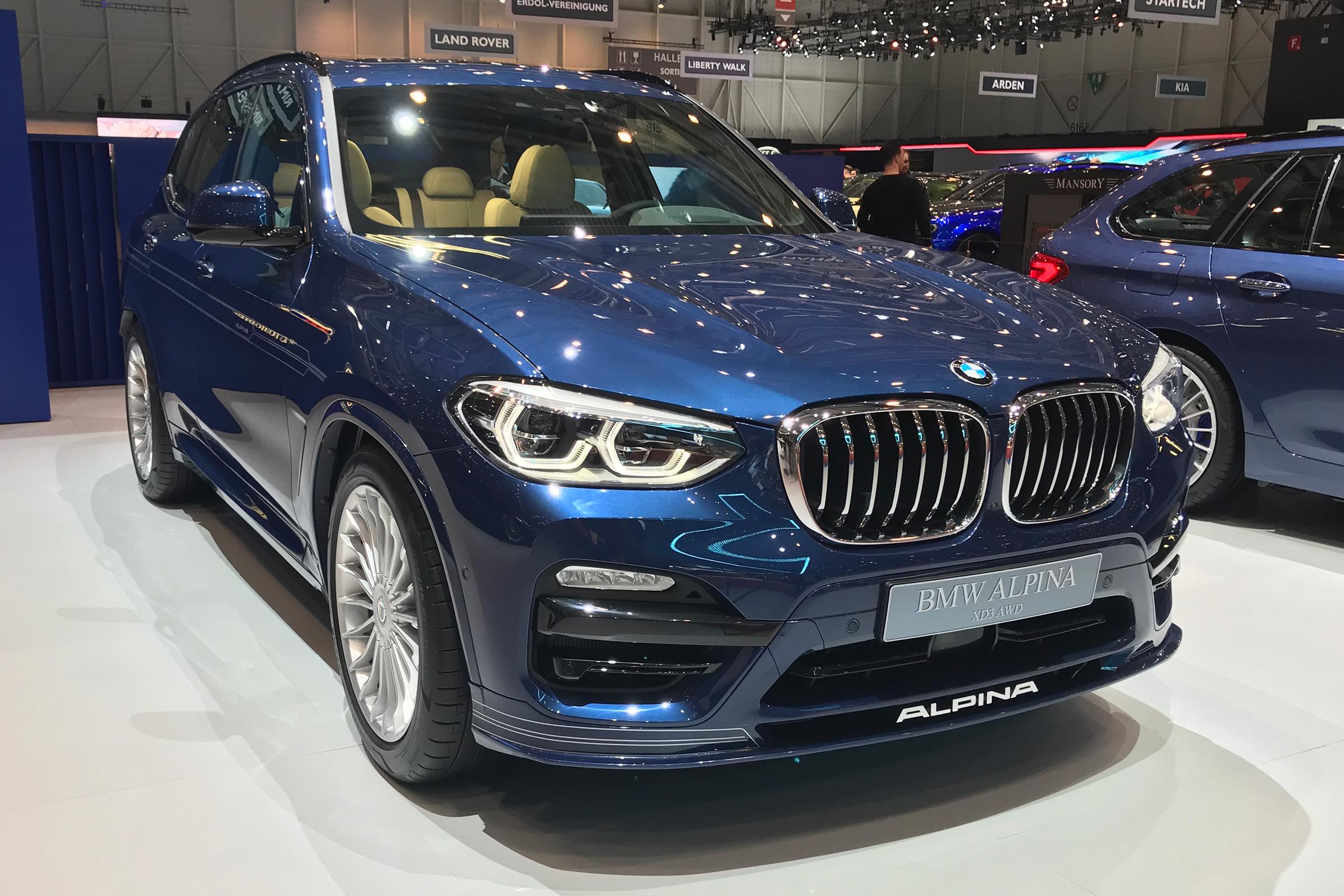 Alpina XD3 – BMW X3 na steroidima (galerija)