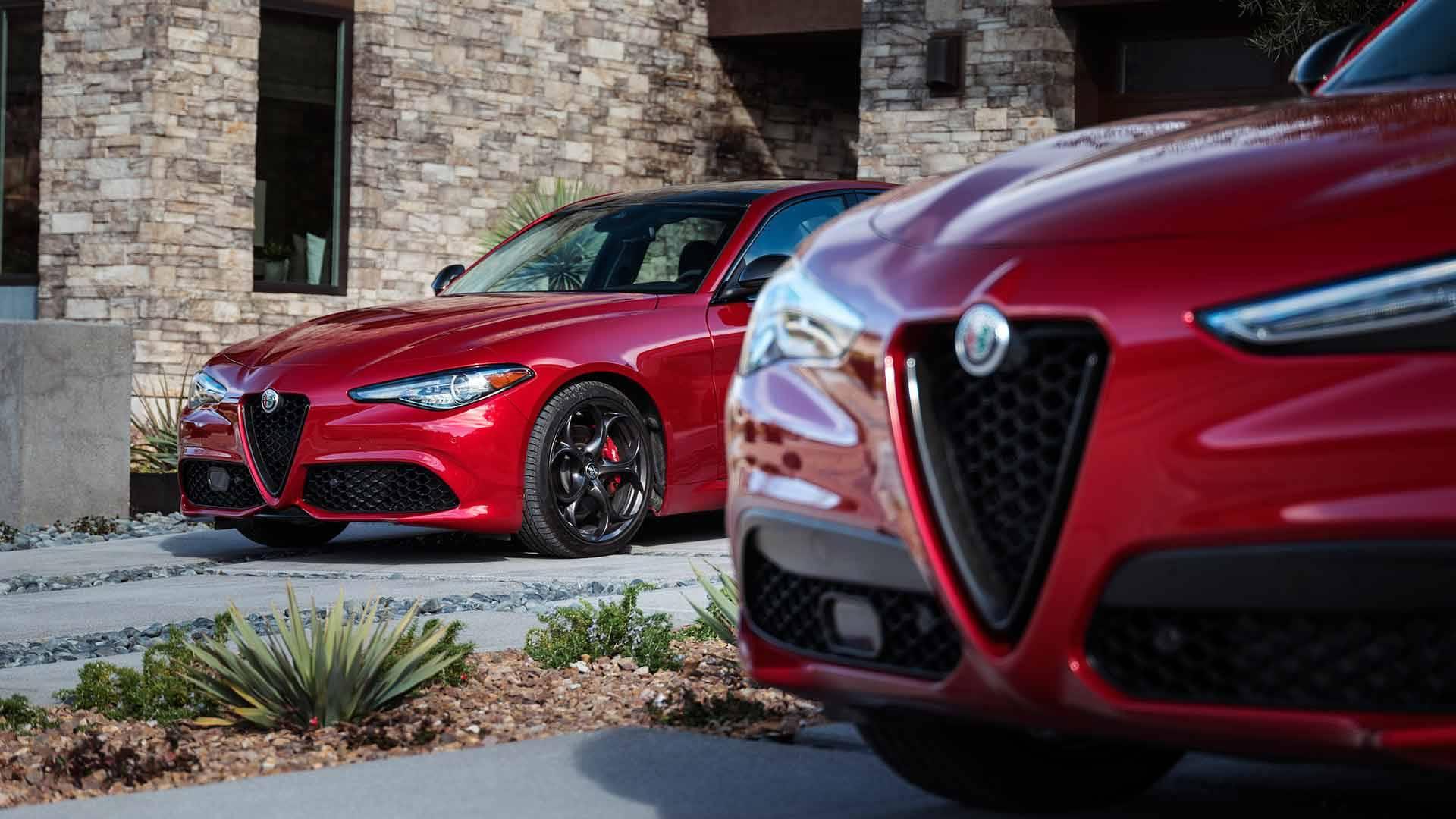 "Alfa Romeo Giulia i Stelvio u Nero Edizione ""odori"""