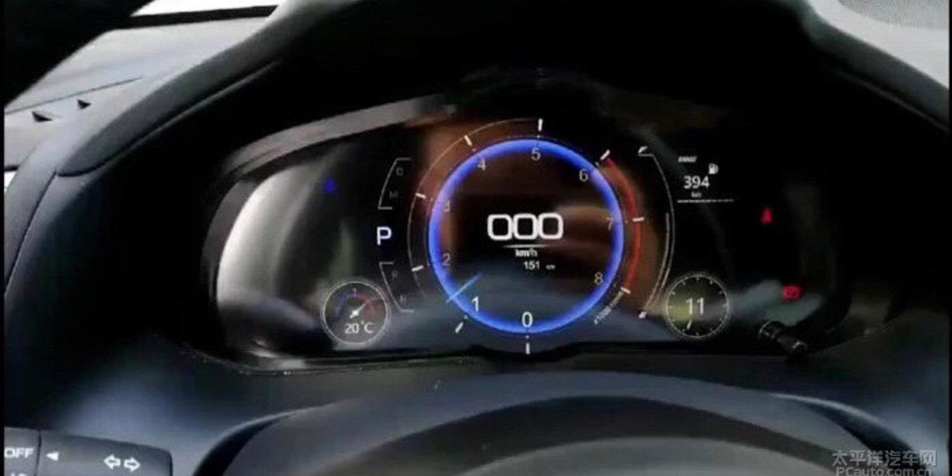 Mazda3 – digitalni instrumentalni klaster