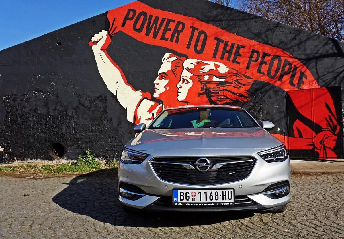 Opel Insignia Grand Sport 2.0 Turbo D Innovation – Alternativa krosover konfekciji
