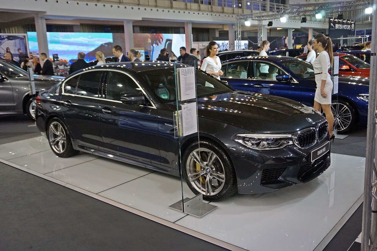 BMW M5 Competition Package stupa na scenu u aprilu