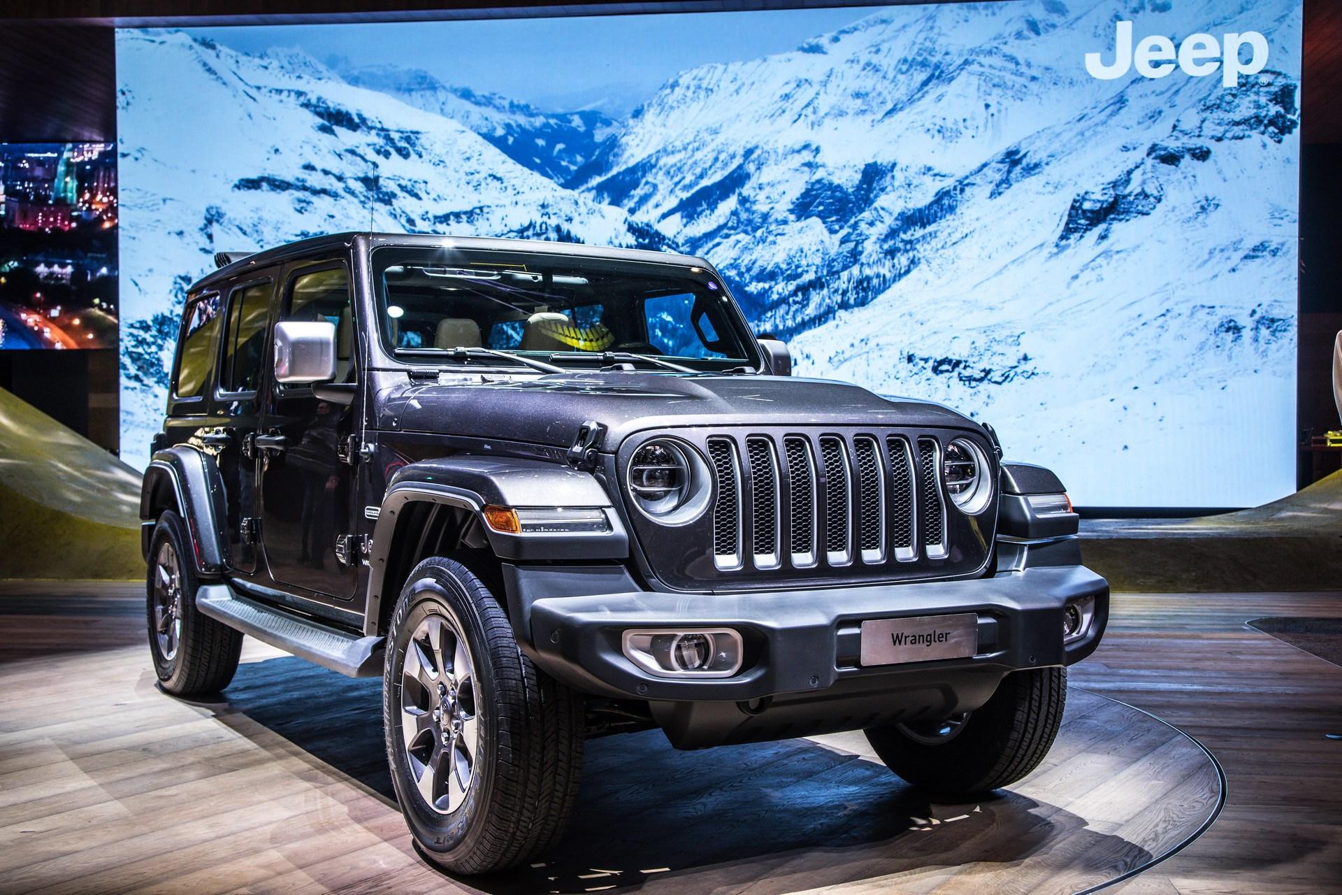 Evropska premijera: Jeep Wrangler (galerija)