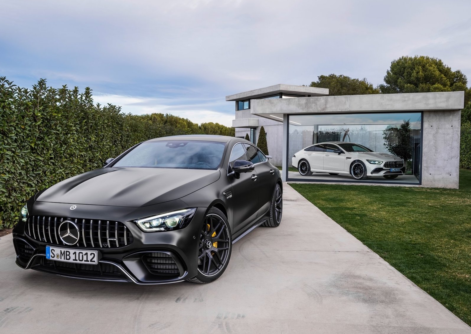 Mercedes-Benz AMG GT 4-door coupe (2019.)
