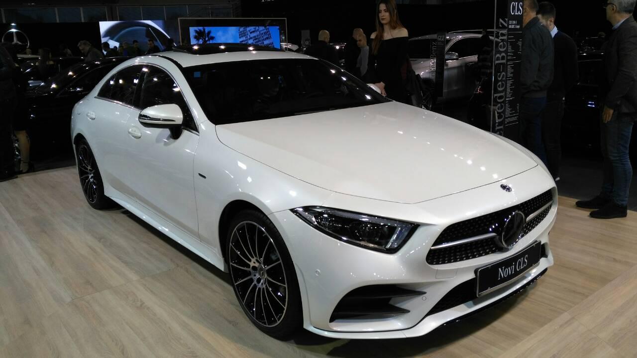 Mercedes CLS na BG Car Show