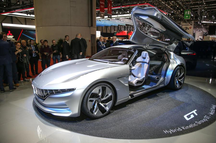 Pininfarina HK GT: konceptualni model sa više od 800 konjskih snaga (galerija)