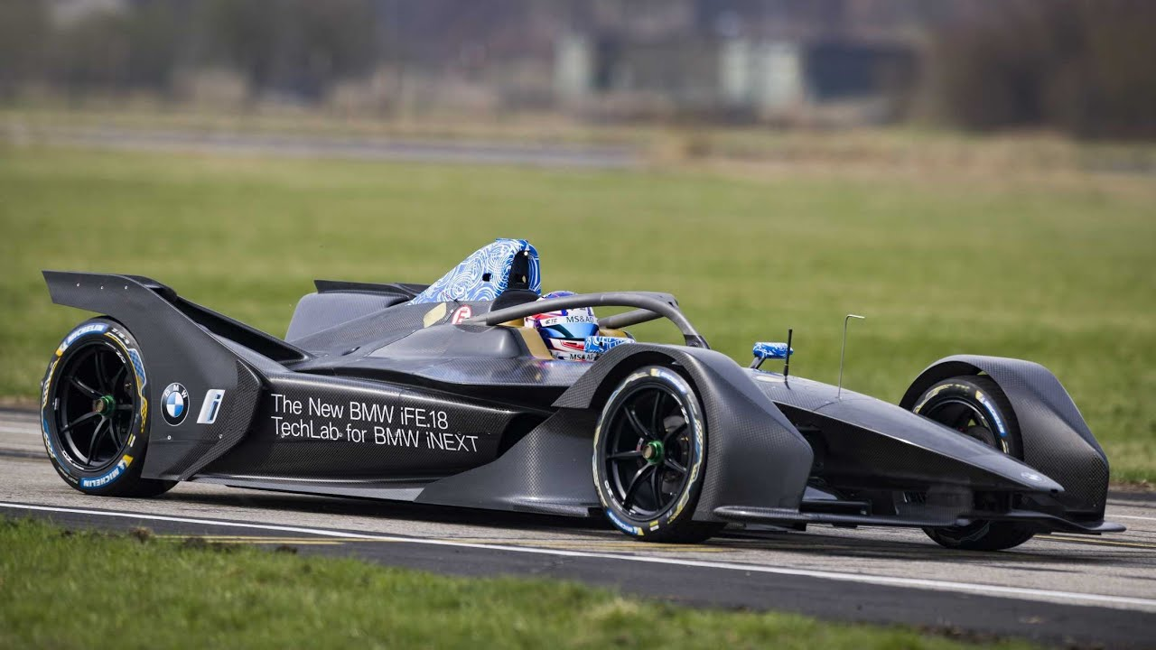 BMW Formula E bolid imao inauguralnu vožnju