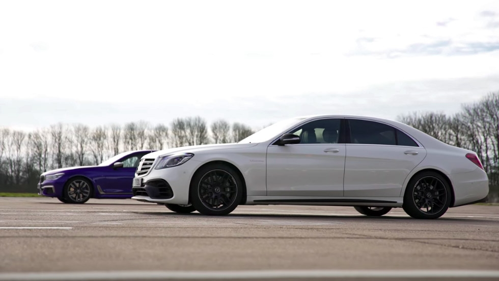 Mercedes-AMG S63 vs BMW M760i xDrive (VIDEO)