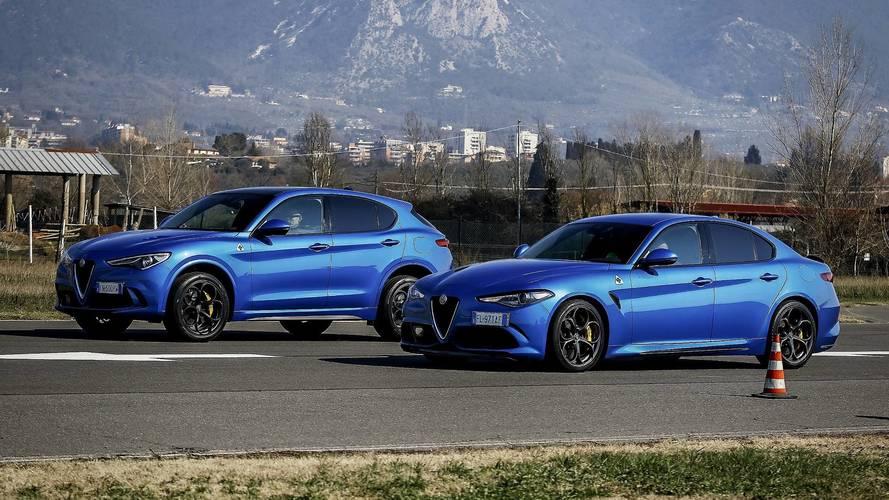 Alfa Romeo Giulia Quadrifoglio vs Alfa Romeo Stelvio Quadrifoglio (VIDEO)