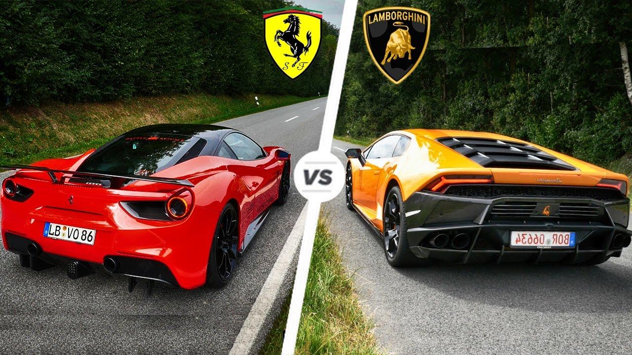 Poređenje: Ferrari 488 Pista vs Lamborghini Huracan Performante (galerija)