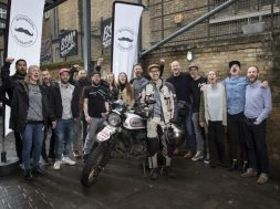 Movember Foundation Supporter Henry Crew Attempts To Become The Youngest Person To Motorcycle Around The World Solo
