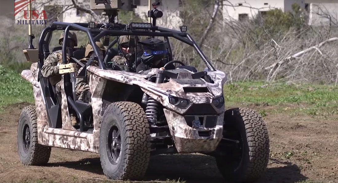 Vojska SAD testira električni UTV (video)