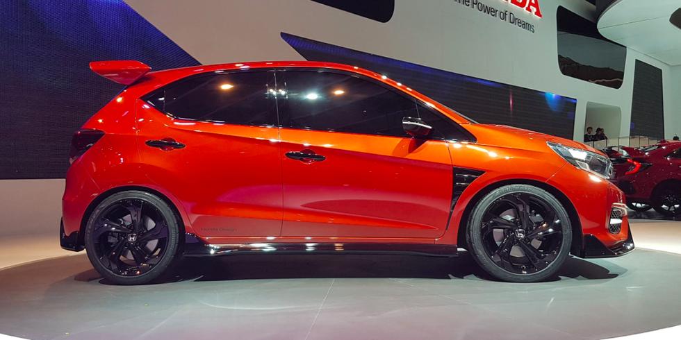 Honda predstavila Small RS Concept hedžbek