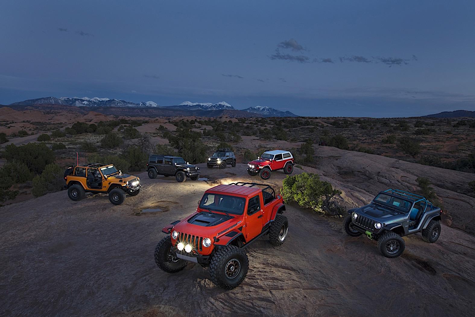 Jeep predstavio sedam koncept vozila! (galerija)