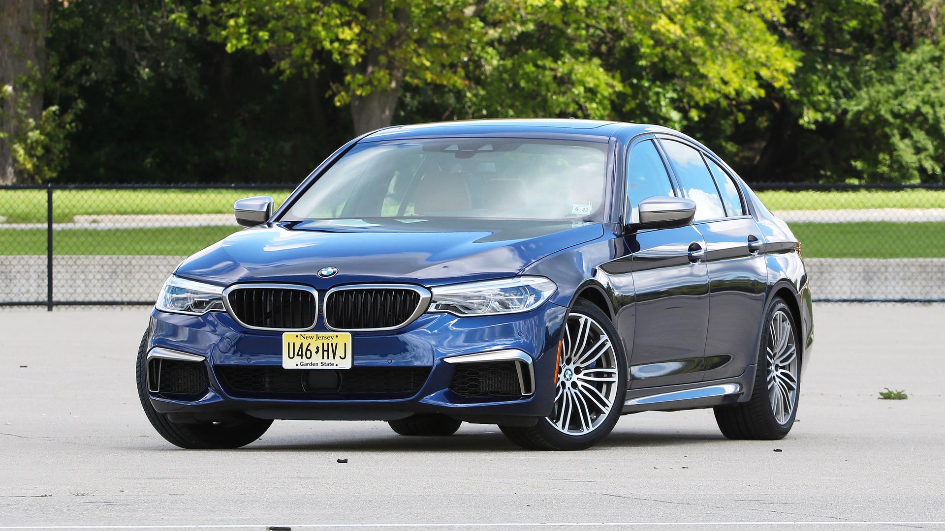 BMW M550i vs BMW M550d (VIDEO)