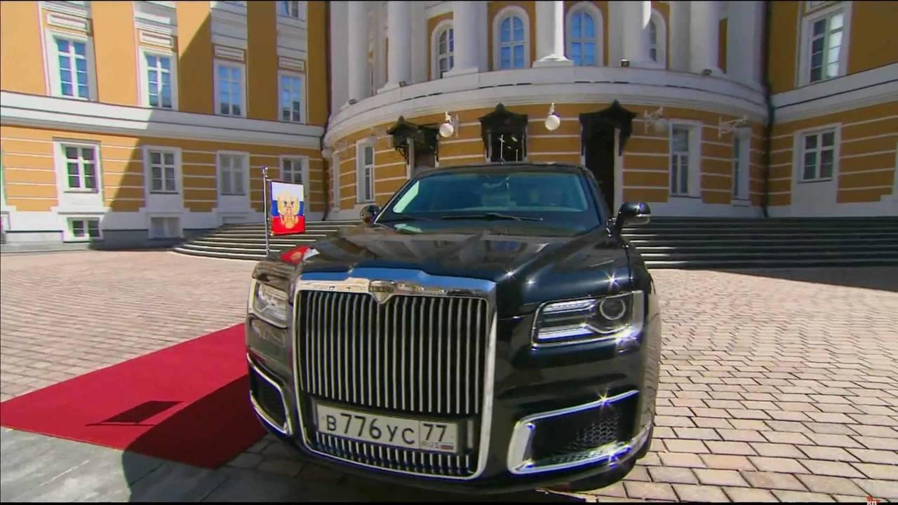 Limuzina Vladimira Putina (VIDEO)