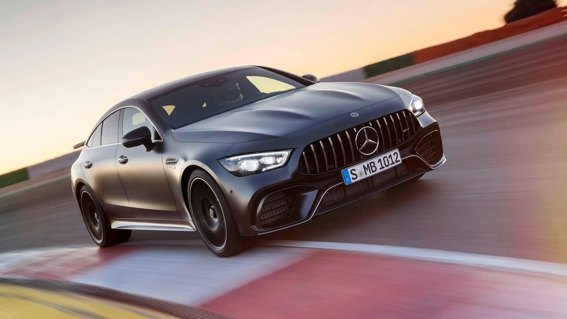 """Mercedes-AMG GT Coupe sa četvoro vrata """"broj 2"""" na Nirburgringu?"""