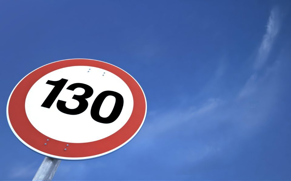 Povećanje maksimalne dozvoljene brzine na autoputevima na 130 km/h!