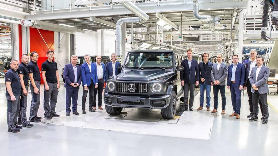 Počela proizvodnja Mercedes-Benza G klase