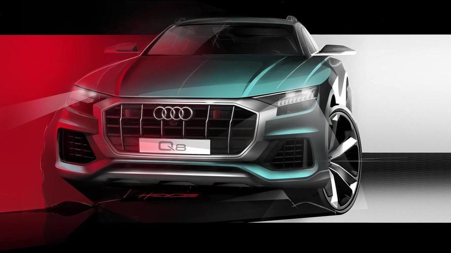 Audi Q8 – novi skeč serijskog modela