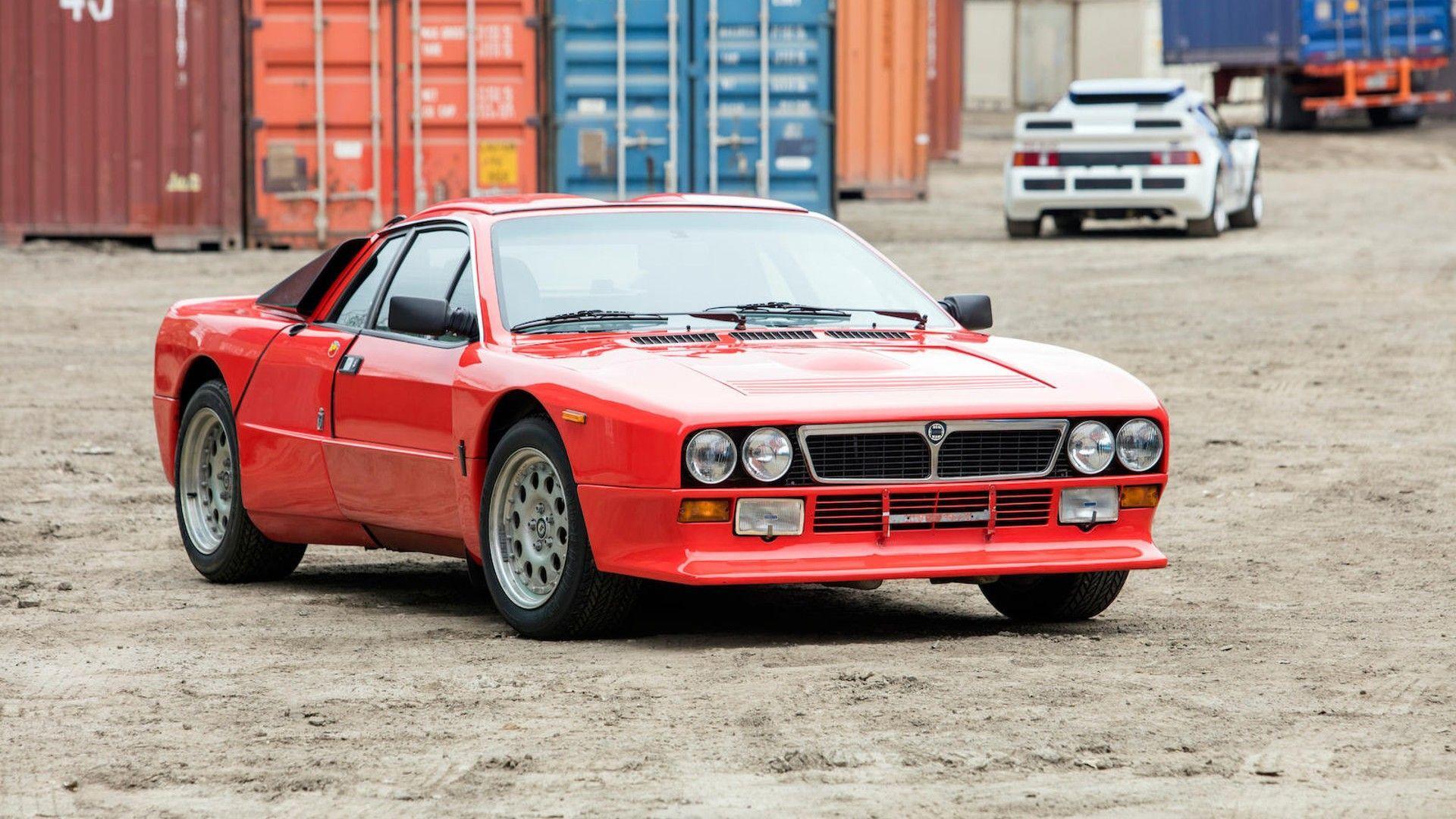 Lancia 037 Stradale i Džej Leno (video)