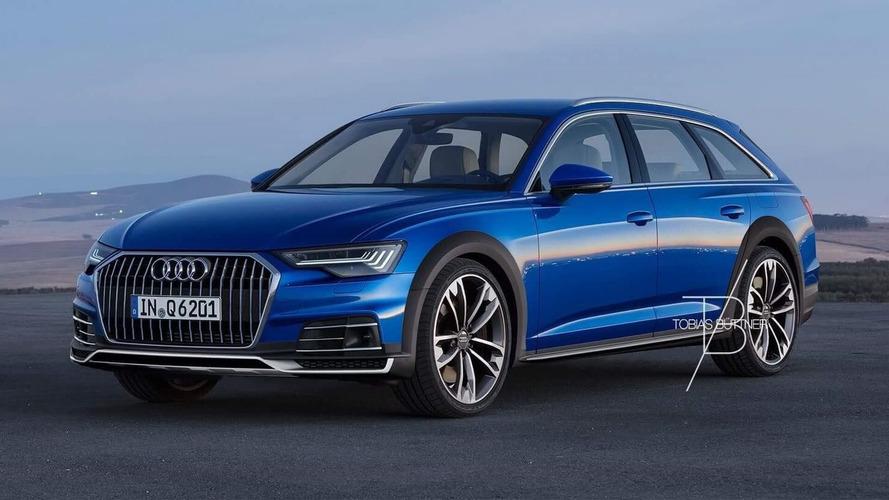 Render modela Audi A6 Allroad