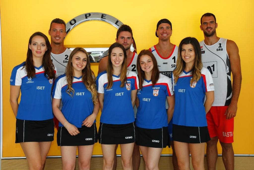 Opel nastavlja da pomaže sportistima u Srbiji
