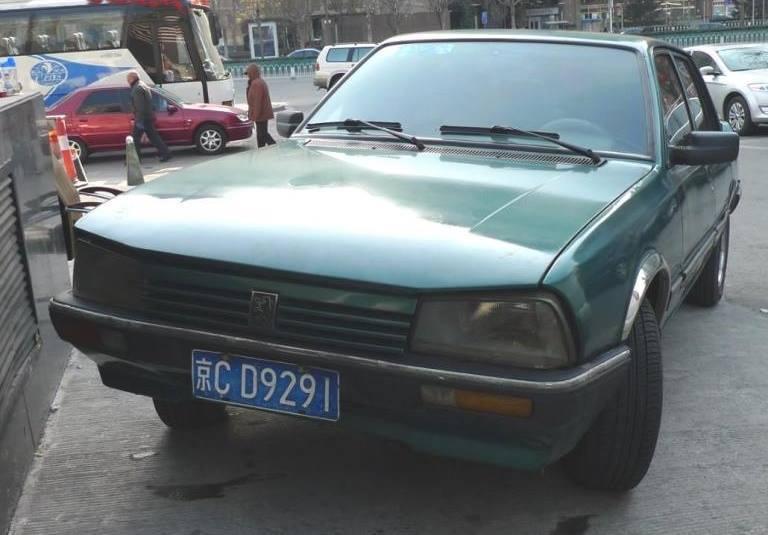 Najzeleniji benzinac svih vremena na ulicama Kine – Peugeot 505 SX